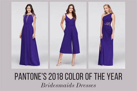 colors of the year 13 bridesmaids dresses in pantone s 2018 color of the year