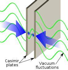 negative energy experiment casimir effect wikipedia