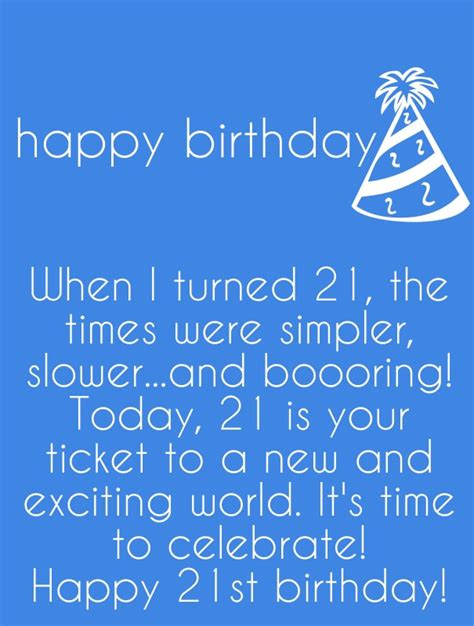 21 Yrs Birthday Quotes 21st Birthday Quotes Funny 21 Birthday Wishes And Sayings