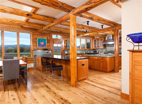 open floor plans log cabin pictures to pin on