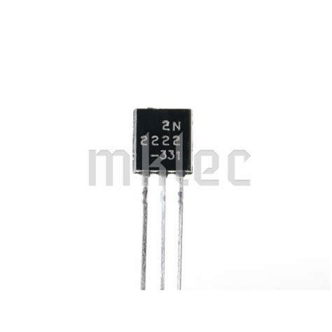 transistor npn mps2222a datasheet transistor npn 2222 28 images 100pcs npn transistor to 92 2n2222a 2n2222 ebay