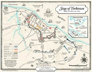 yorktown map yorktown caign 183 george washington s mount vernon