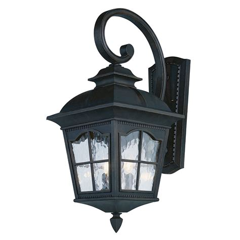 Outdoor Globe Light Fixture Chesapeake 25 Inch Outdoor Three Light Wall Light Fixture Black Trans Globe Lighting