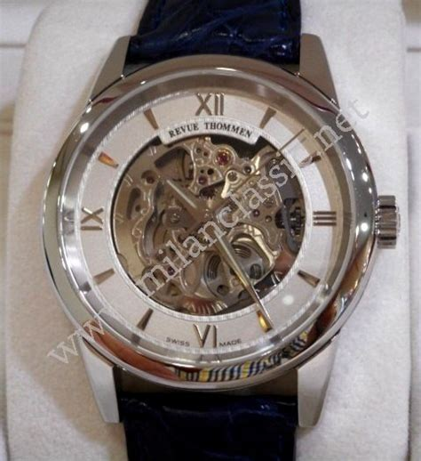Rolex Big Size Skeleton Rantai Silver sold revue thommen skeleton silver auto steel leather 38mm with box card pj www