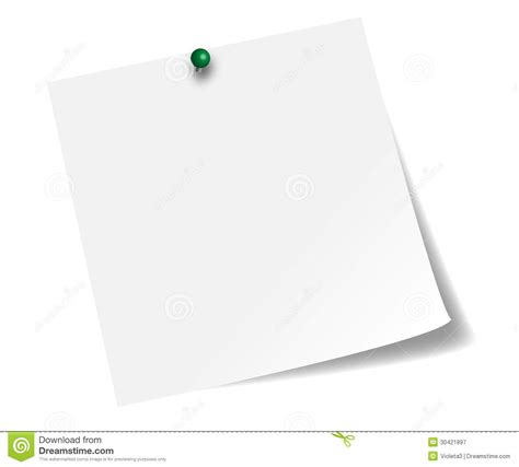 stick paper white stick note paper royalty free stock photography