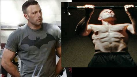 batman vs superman workout ben affleck betim alimi 2014