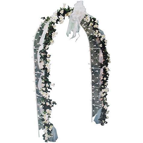 darice 8 decorative arch white