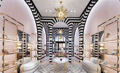 wallpaper design store aquazurra open the doors of their luxury ny boutique
