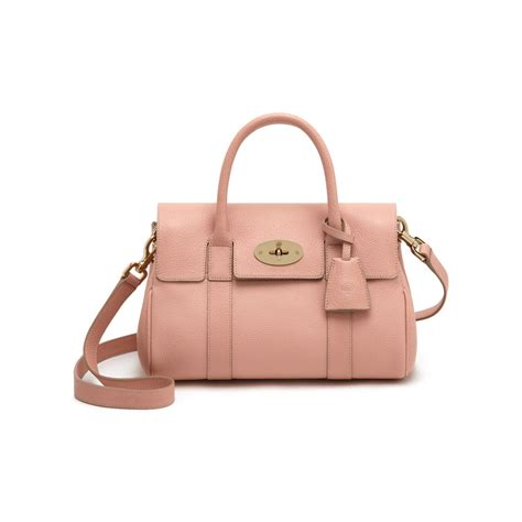 Small Satchel by Lyst Mulberry Small Bayswater Satchel In Pink
