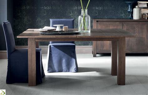 tavolo allungabile in legno massello tavolo in massello allungabile orlando arredo design