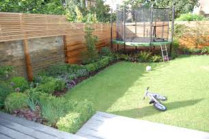 backyard troline garden design ideas with troline small garden ideas
