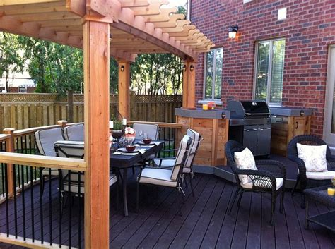 Backyard Bbq Decks 17 Best Images About Outdoor Barbeque Ideas On