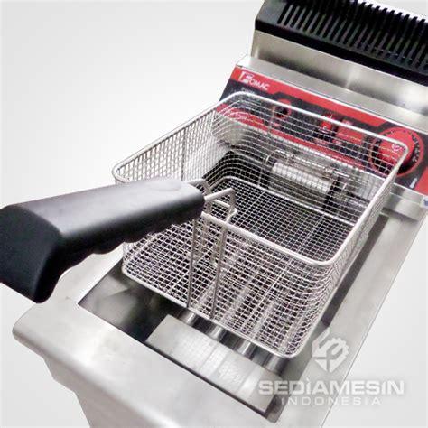 Fry G171 Mesin Penggorengan Menggunakan Gasdeep Fryer Pengorengan fryer gas dengan thermostat fomac fry g171