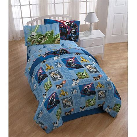 star wars bedding set 5pc comforter and sheets full bed