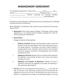 artist manager contract template pricing record label agreements