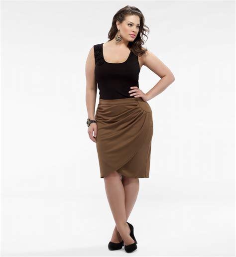 denim pencil skirt plus size 2014 2015 fashion trends