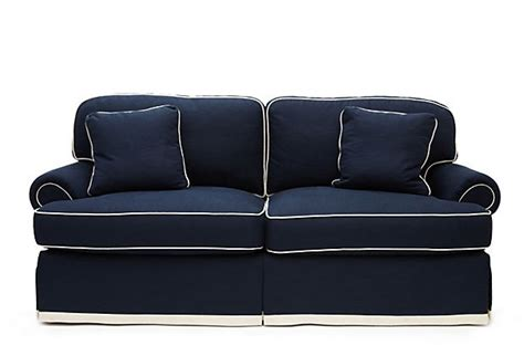 nautical couch nantucket 88 quot sofa