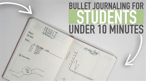 bullet journaling for students a bullet journaling for students 10 minutes