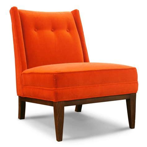 orange chair so orange so good please be seated pinterest