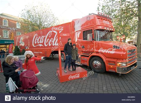 coke coca cola lorry santa claus st nickolas
