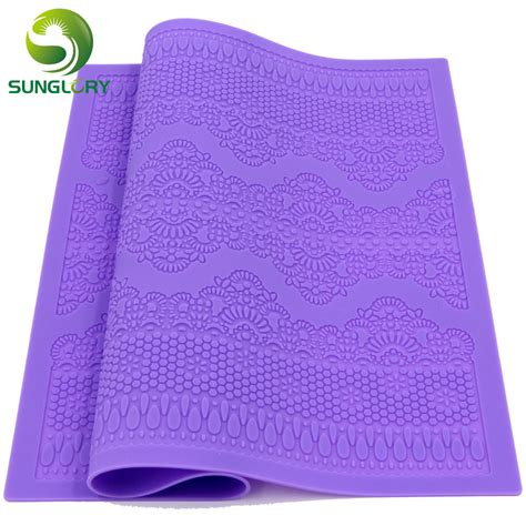 Fondant Silicone Mat by New Arrivals Silicone Mat Fondant Cake Decorating Styling