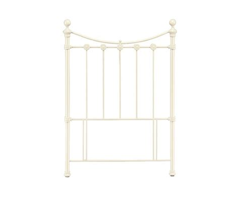 Metal Headboards Single by Bentley Designs 3ft Single White Metal Headboard By