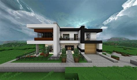 modern houses minecraft modern house minecraft project