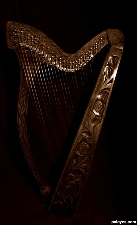 celtic harp picture by twilightmuse for instruments