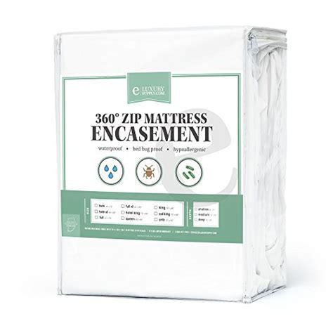Best Bed Bug Mattress Encasement by 360 Removable Top Mattress Encasement Waterproof 10