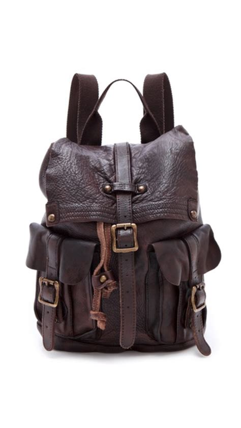 bed stu backpack one by bed stu shiloh leather backpack shopbop