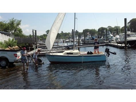 newport sailboat 1977 capital yachts co newport 17 sailboat for sale in new
