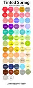 gallery for gt light spring color palette