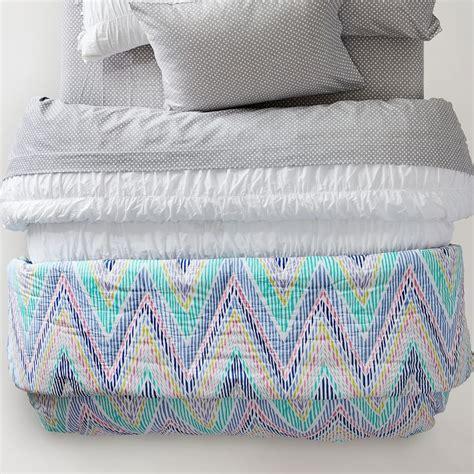Chooty Co Abigail Xl Cotton Zig Zag Comforter Set 28 Images Modern Teal Blue Aqua