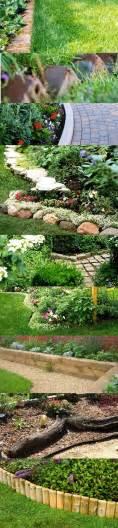 Flower Garden Border Ideas Garden Bed Borders Edging Ideas For Vegetable And Flower Gardens
