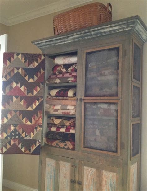 Armoire Quilts by Armoires On Painted Armoire Quilt Storage And