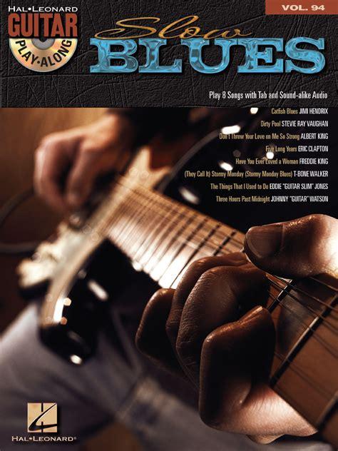 slow blues guitar play  volume  guitar tab bookonline audio