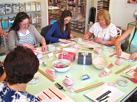 Paper Workshop - cristina re where a goes high tea and craft