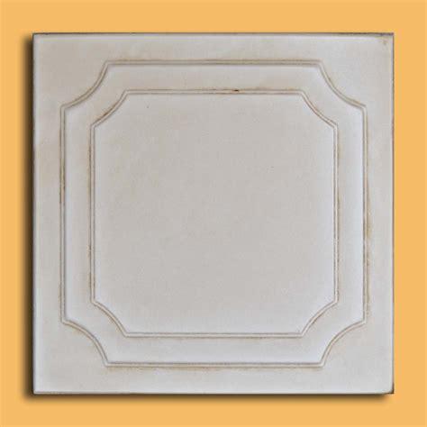 20 quot x20 quot yalta aged ivory foam ceiling tiles antique