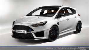 Ford Focus Rs News Ford Focus Rs D Schwarz