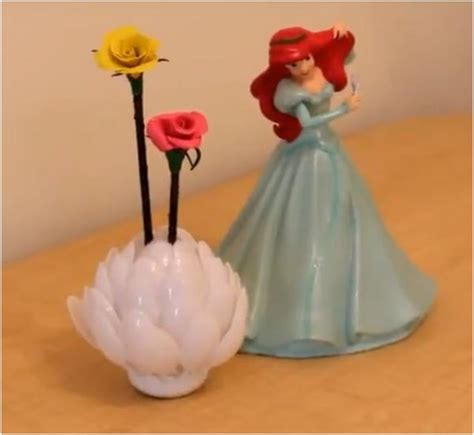 Pinecone Vase 7 Diy Plastic Spoon Decorations