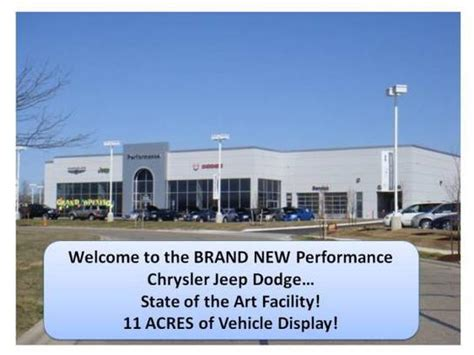 Performance Chrysler Jeep Dodge Performance Chrysler Jeep Dodge Ram Car Dealership In