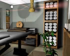Black Wood Desks Contemporary Indonesian Spa Furniture Salon Interior Design