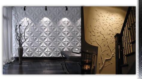 Decor 3d by Ristrutturazione Parete Wall Decor 3d Pannelli