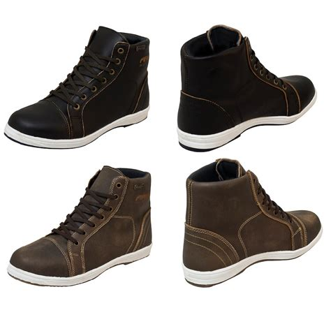 black motorbike boots armr nikko casual motorcycle boots brown black waterproof