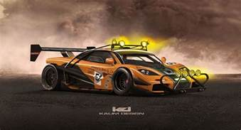 new mclaren f1 car mclaren f1 turns into a storming baja style beast