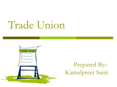 Trade Union Notes Mba by Trade Union