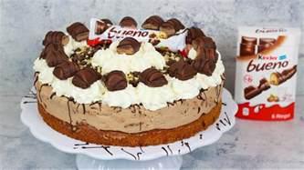 bueno kuchen kinder bueno torte haselnusstorte