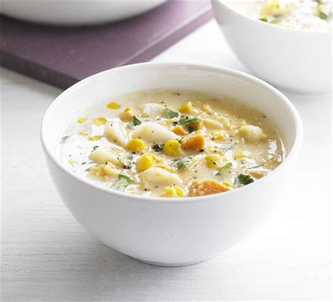 fresh light chowder bbc good food