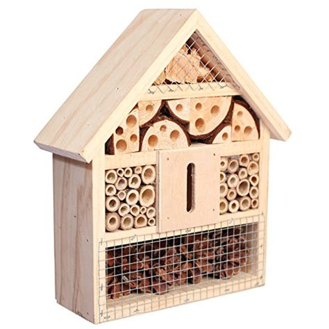 bug house niteangel natural insect hotel bee bug house hotel new ebay