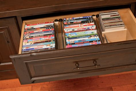 organize media entertainment centers media storage dura supreme cabinetry